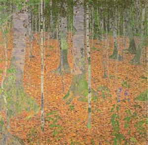 Gustav-Klimt-The-Birch-Wood--1903-108154