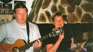 Margith sjunger på Mallis