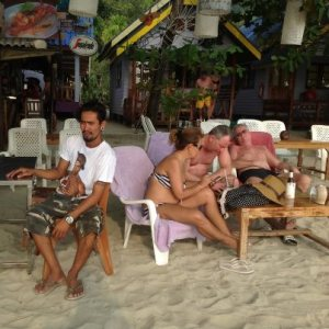 Tan på Beach Tango
