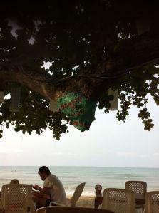 Frukost på Beach Tango
