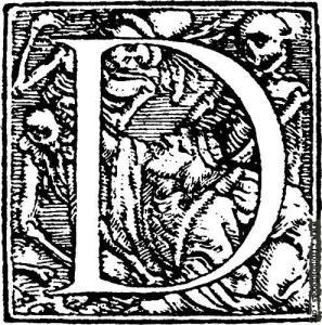 D som i Döden- Hans Holbein