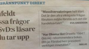 Fråga till Obama