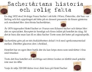 Historien om Sachertårtan