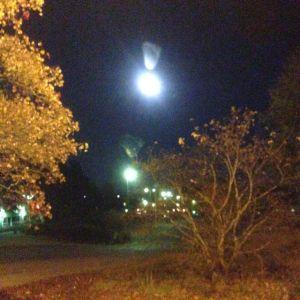 Månen som ett utropstecken