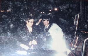In eller ur bilen den 1 november 1969